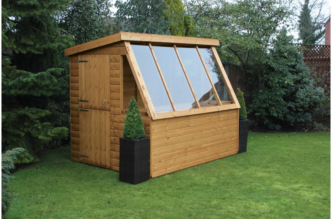Potting shed for Garden potting sheds designs